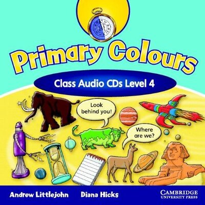 Аудіодиск Primary Colours Level 4 Class Audio CDs