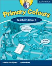 Primary Colours Level 4 Teacher's Book - фото обкладинки книги