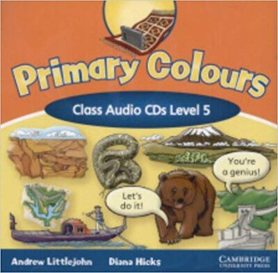 Аудіодиск Primary Colours Level 5 Class Audio CDs