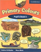 Аудіодиск Primary Colours Level 5 Pupil's Book