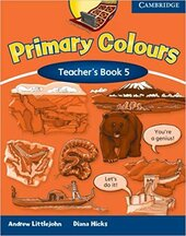 Primary Colours Level 5 Teacher's Book 1st Edition - фото обкладинки книги