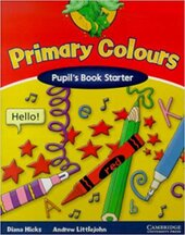 Primary Colours Pupil's Book Starter - фото обкладинки книги