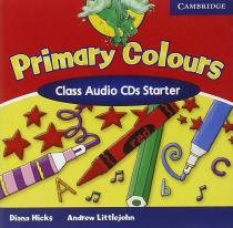 Книга для вчителя Primary Colours Starter Class Audio CDs