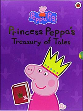 Princess Peppa Treasury of Tales - фото книги