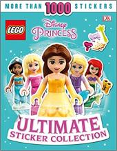 Princess Ultimate Sticker Book - фото обкладинки книги