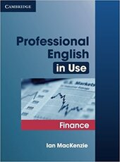 Professional English in Use Finance - фото обкладинки книги