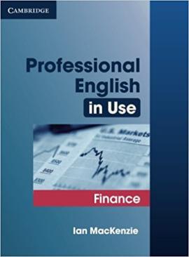 Professional English in Use Finance - фото книги