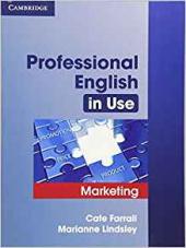 Professional English in Use Marketing - фото обкладинки книги