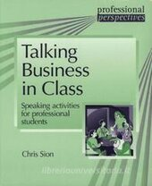 Professional Perspectives: Talking Business in Class: Speaking activities for professional students - фото обкладинки книги