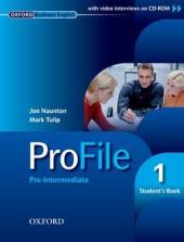 ProFile 1. Student's Pack (підручник + аудіодиск) - фото обкладинки книги