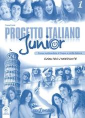 Progetto Italiano Junior 1. Guida per L'insegnante - фото обкладинки книги