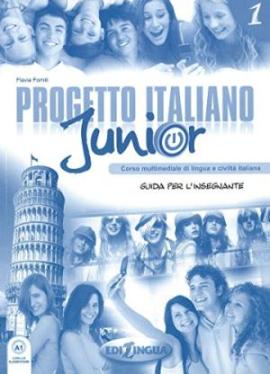 Progetto Italiano Junior 1. Guida per L'insegnante - фото книги