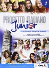 Progetto Italiano Junior 1. Libro & Quaderno + CD audio - фото обкладинки книги