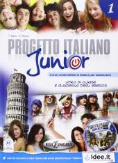 Progetto Italiano Junior 1. Libro & Quaderno + CD audio - фото обкладинки книги