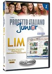 Progetto Italiano Junior 1. LIM software whiteboard (програма для інтерактивної білої дошки) - фото обкладинки книги