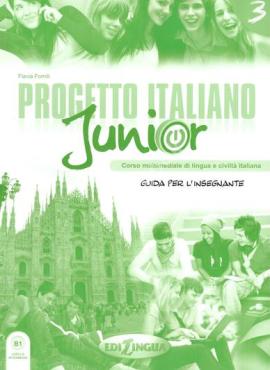 Progetto Italiano Junior 3. Guida per L'insegnante - фото книги