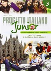 Progetto Italiano Junior 3. Libro & Quaderno + CD audio - фото обкладинки книги