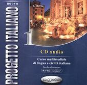 Progetto Italiano Nuovo 1 (A1-A2). CD Audio - фото обкладинки книги