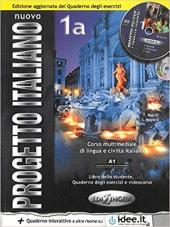 Progetto Italiano Nuovo 1A. Libro&Quaderno + CD Audio (підручник+робочий зошит+аудіодиск) - фото обкладинки книги