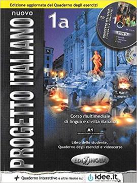 Progetto Italiano Nuovo 1A. Libro&Quaderno + CD Audio (підручник+робочий зошит+аудіодиск) - фото книги