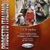 Progetto Italiano Nuovo 2 (B1-B2). CD Audio - фото обкладинки книги