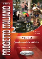 Progetto Italiano Nuovo 2 (B1-B2). Video (відеокурс до підручника) - фото обкладинки книги