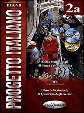 Progetto Italiano Nuovo 2A. Libro&Quaderno + CD Audio + CD-ROM (підручник+робочий зошит+аудіодиски) - фото книги