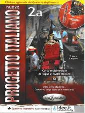 Progetto Italiano Nuovo 2A. Libro&Quaderno + CD Audio (підручник+робочий зошит+аудіодиск) - фото обкладинки книги