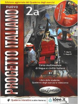 Progetto Italiano Nuovo 2A. Libro&Quaderno + CD Audio (підручник+робочий зошит+аудіодиск) - фото книги