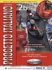 Progetto Italiano Nuovo 2В. Libro&Quaderno + CD Audio (підручник+робочий зошит+аудіодиск) - фото обкладинки книги