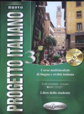 Progetto Italiano Nuovo 3 (B2-C1). Libro dello studente + CD-ROM - фото обкладинки книги