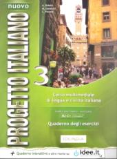 Progetto Italiano Nuovo 3 (B2-C1). Quaderno degli esercizi COLORE + CD Audio - фото обкладинки книги