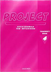 Project Second Edition 4. Teacher's Book - фото обкладинки книги