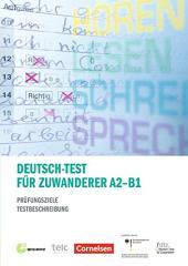 Prufungstraining DaF: Deutsch-Test fur Zuwanderer A2-B1 - фото обкладинки книги
