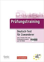 Prufungstraining DaF: Deutsch-Test fur Zuwanderer Ubungsbuch mit CD und CD-ROM A2-B1 - фото обкладинки книги
