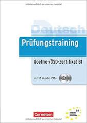 Prufungstraining DaF: Goethe-/OSD-Zertifikat B1 mit Audio-CDs (2) - фото обкладинки книги