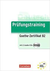 Prufungstraining DaF: Goethe-Z B2+CDs (2) - фото обкладинки книги