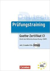 Prufungstraining DaF: Goethe-Z C1+CD - фото обкладинки книги