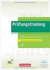 Prufungstraining DaF: Goethe-Zertifikat B2 2019 - Ubungsbuch + Losungen - фото обкладинки книги