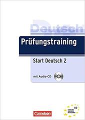 Prufungstraining DaF: Start Deutsch2 A2+CD - фото обкладинки книги