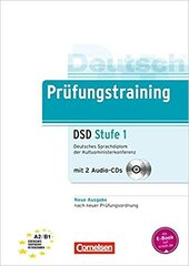Prufungstraining Deutsches Sprachdiplom der Kultusministerkonferenz (DSD) A2-B1+CDs (2) - фото обкладинки книги