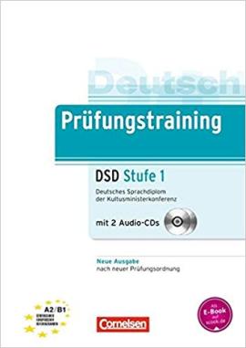 Prufungstraining Deutsches Sprachdiplom der Kultusministerkonferenz (DSD) A2-B1+CDs (2) - фото книги