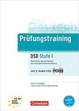 Prufungstraining Deutsches Sprachdiplom der Kultusministerkonferenz (DSD) A2-B1+CDs (2) Neubearbeitu - фото книги