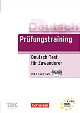 Підручник Prufungstraining Test fur Zuwanderer mit CD