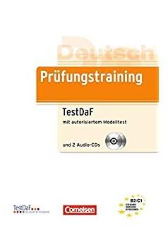 Підручник Prufungstraining TestDaF mit autorisiertem Modelltest und 2 Audio-CDs