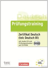 Prufungstraining Zertifikat Deutsch B1 mit CD und CD-ROM NEU