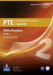 PTE Test of English General Skills Booster 2 Student Book+CD (підручник) - фото обкладинки книги
