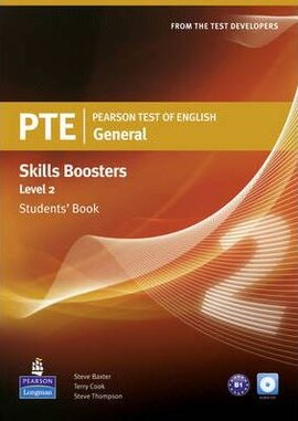 PTE Test of English General Skills Booster 2 Student Book+CD (підручник) - фото книги