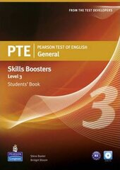 PTE Test of English General Skills Booster 3 Student Book+CD (підручник) - фото обкладинки книги