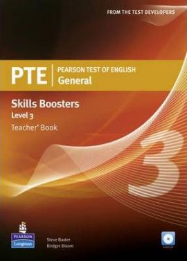 PTE Test of English General Skills Booster 3 Teacher's Book+CD (книга вчителя) - фото книги
